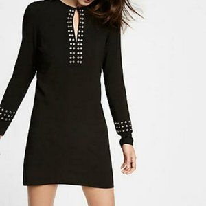 Express - Grommet Embellished Shift Dress